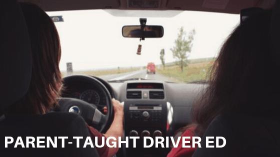 Parent-Taught Driver Education