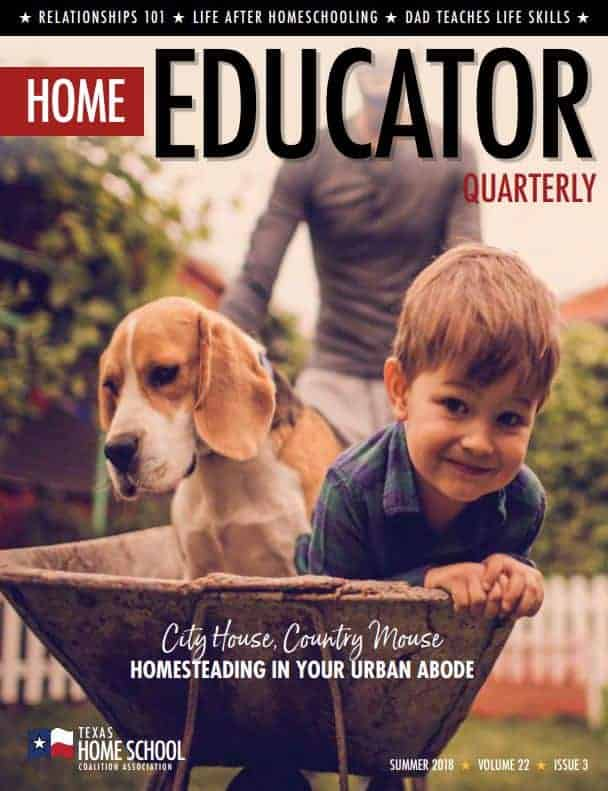 Summer 2018 Home Educator Quarter Cover Image